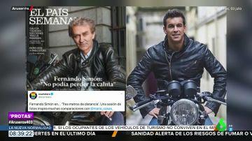 La portada de Fernando Simon a lo Mario Casas en 'Tres metros sobre el cielo'