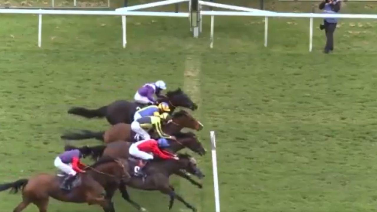 Carrera de caballos en Doncaster