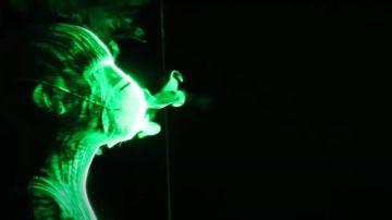 Un estudio mide la efectividad de distintas mascarillas mediante el uso del láser