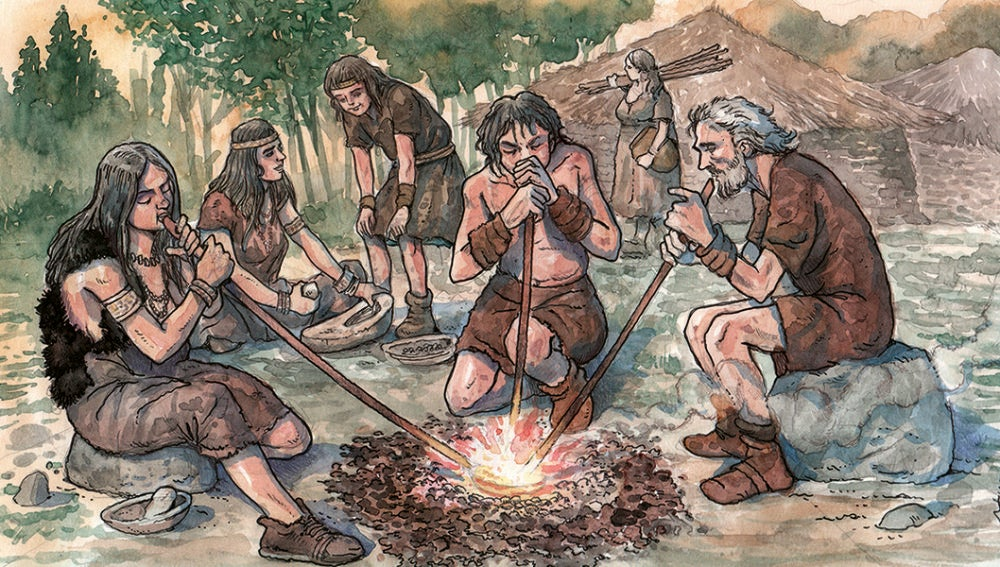 El metal se uso para fabricar adornos antes que armas segun una prehistoriadora
