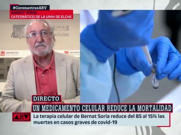 El catedrático Bernat Soria.