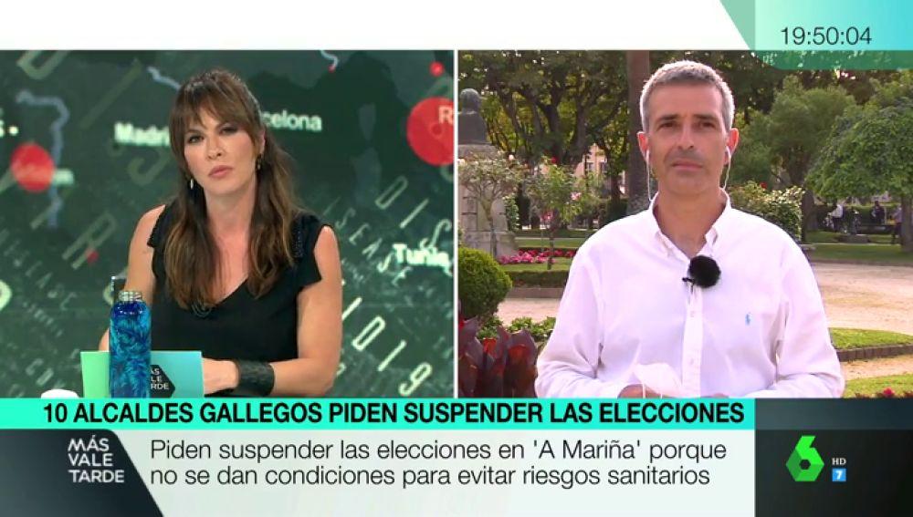 """El alcalde de Ribadeo pide que se aplacen la elecciones gallegas: """"Hay personas confinadas que van a ir a votar"""""""