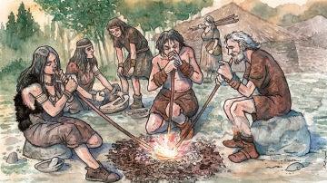 El metal se uso en la Prehistoria para fabricar adornos antes que armas segun un estudio