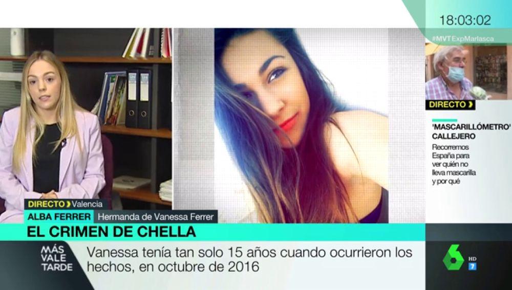 """El duro relato de la hermana de Vanessa Ferrer, la joven violada y asesinada con 15 años: """"Apenas estaba comenzando a vivir"""""""