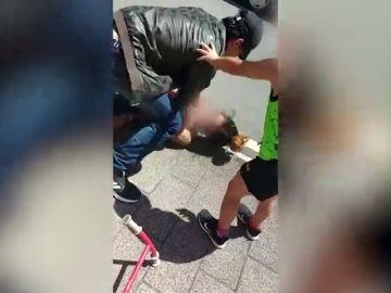 """Habla una testigo de la salvaje agresión machista de Eibar: """"Me dejó aterrorizada. Pensé que me iba a agredir"""""""