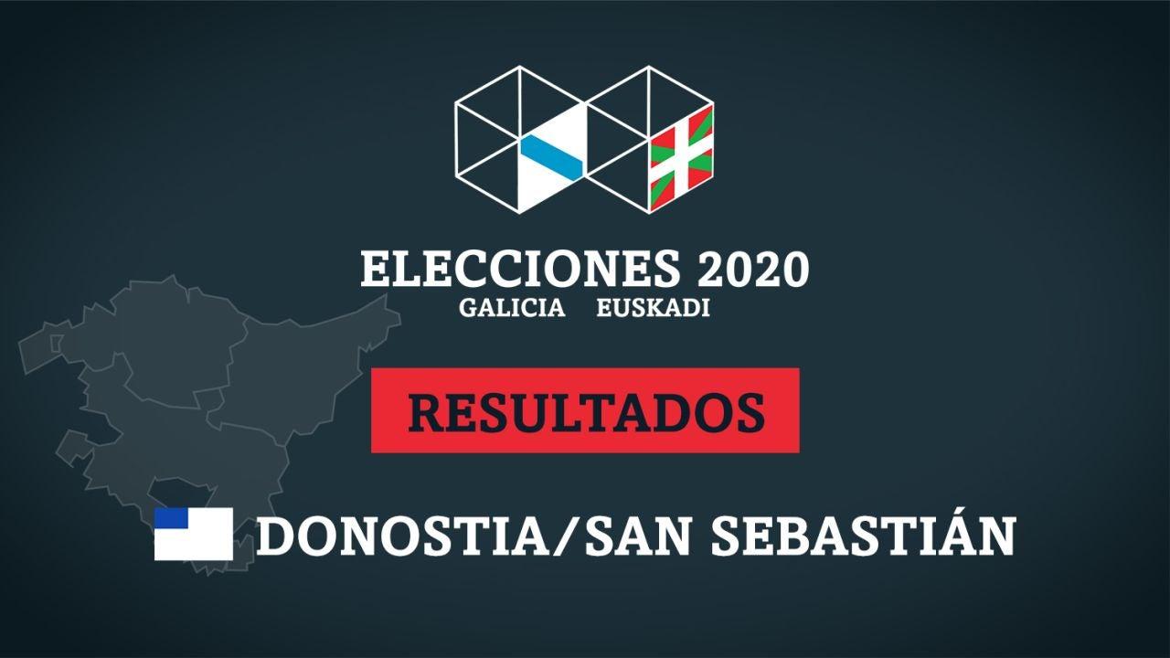 Resultados de las elecciones en San Sebastián (Donostia)