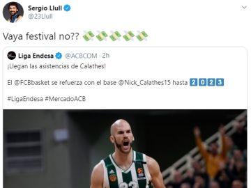 Twitter de Sergio Llull