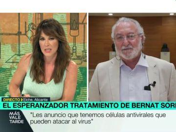 """El investigador Bernat Soria anuncia que hay un un tratamiento de """"células antivirales que pueden atacar"""" al coronavirus"""