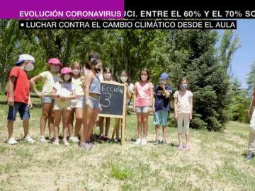 Luchar desde el cambio climático desde el aula: así trabajan lo profesores de educación ambiental