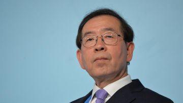 Park Won-soon, alcalde de Seúl