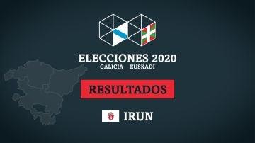 Resultados de las elecciones en Irun
