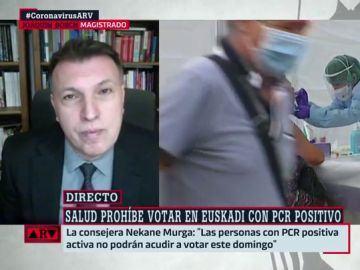 El magistrado Joaquin Bosch