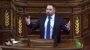 Vídeo manipulado - La pataleta de Santiago Abascal en el Congreso por culpa del tabaco