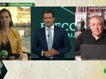 """Antonio García Ferreras, sobre el 12J: """"Estas son las elecciones de las mascarillas"""""""
