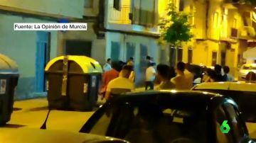 Asesinan a puñaladas a un hombre que intentó mediar en una pelea en Murcia ante la mirada de más de 20 personas