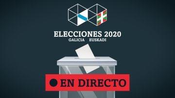 Elecciones vascas y gallegas 2020 | Participación, sondeos, resultados y noticias de última hora EN DIRECTO