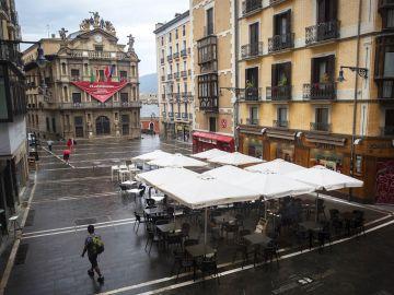 Imagen de la Plaza del Ayuntamiento de Pamplona (Archivo)