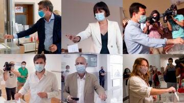 Los candidatos a la Xunta de Galicia