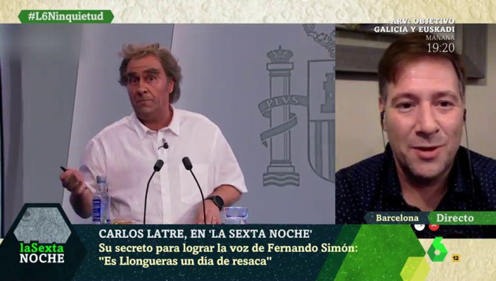 De Ferreras a Fernando Simón o Pedro Sánchez: no hay quien se resista a las imitaciones de Carlos Latre