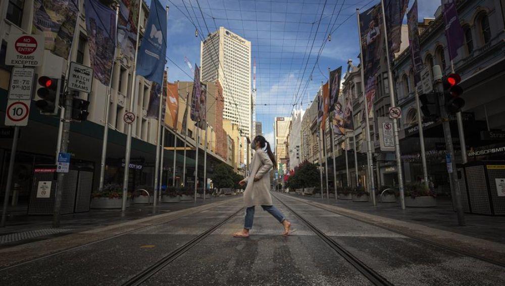 Melbourne en estado de desastre