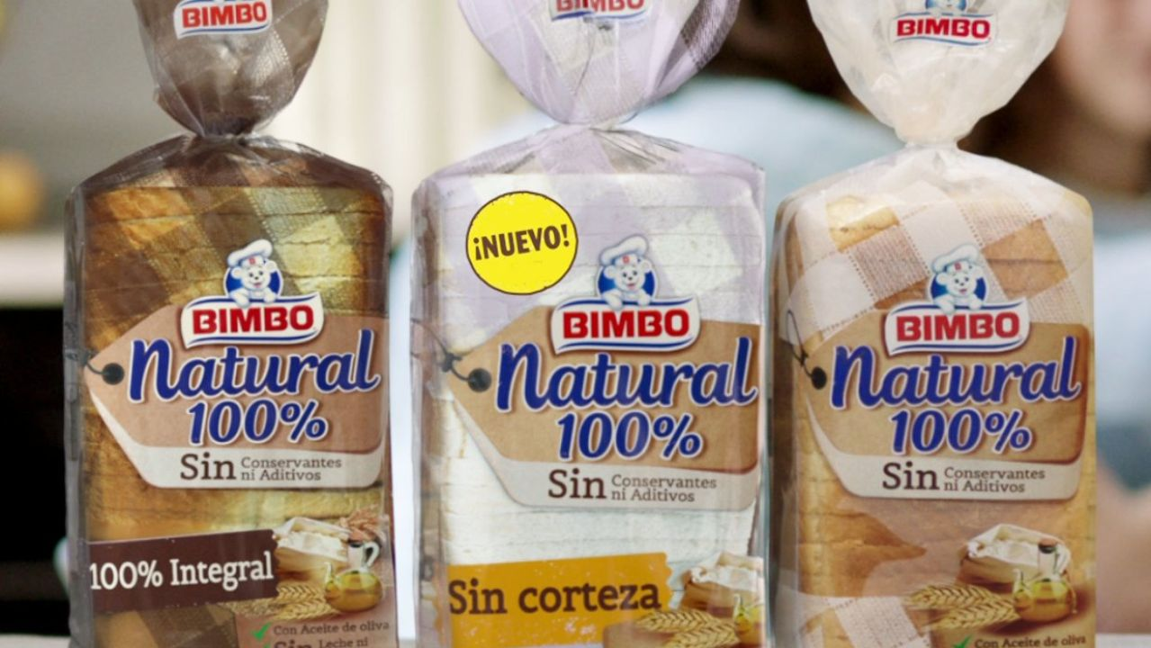 Productos de pan Bimbo