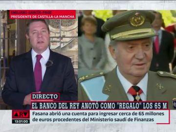 El presidente de Castilla-La Macha, Emiliano García-Page.