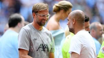 Klopp y Guardiola