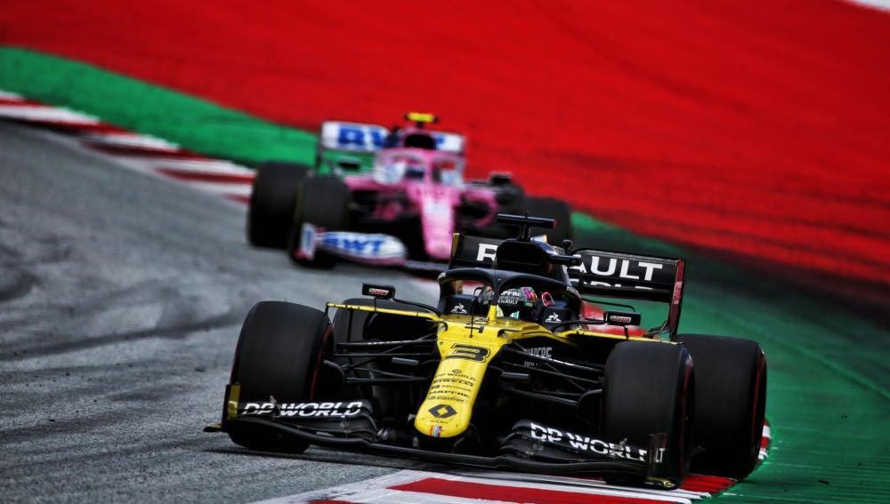 Polémica entre Renault F1 y Racing Point