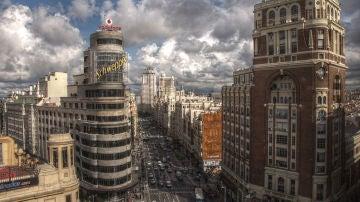 Ángel caído, Madrid