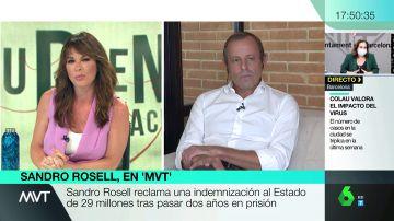 """Sandro Rosell, sobre su indemnización: """"Hay que poner un valor, pero la muerte en vida de dos años no tiene precio"""""""