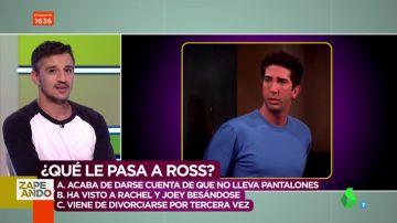 ¿Qué le pasa a Ross en esta secuencia de 'Friends'? y otros momentos del cine que pondrán a prueba tu capacidad interpretativa