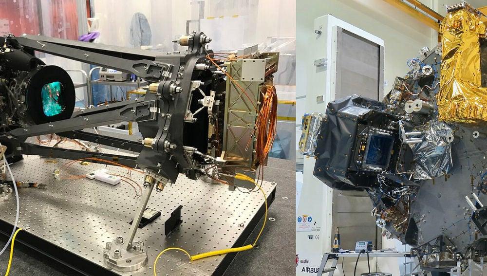 Listos los instrumentos del telescopio espacial europeo Euclid
