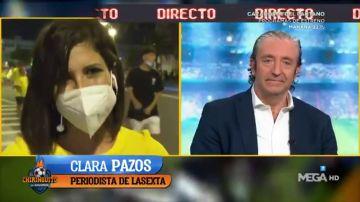 """La emoción de Clara Pazos tras el ascenso del Cádiz: """"Mi padre se quedó con la espinita de volver a verlo en Primera"""""""