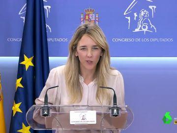 """Vídeo manipulado - La reacción de Álvarez de Toledo a la pregunta de María Llapart, de laSexta: """"No me importa si te caigo bien o te caigo mal, cari"""""""