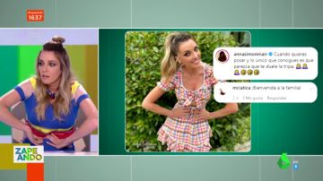Anna Simon y Lorena Castell se suman a la cuenta viral 'Modelos con ciática'