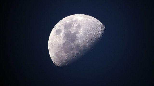 Fotografía de la Luna