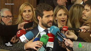 """Vídeo manipulado - Cayetana Álvarez de Toledo roba el protagonismo a Casado al grito de """"¡quiero ir a misa!"""""""