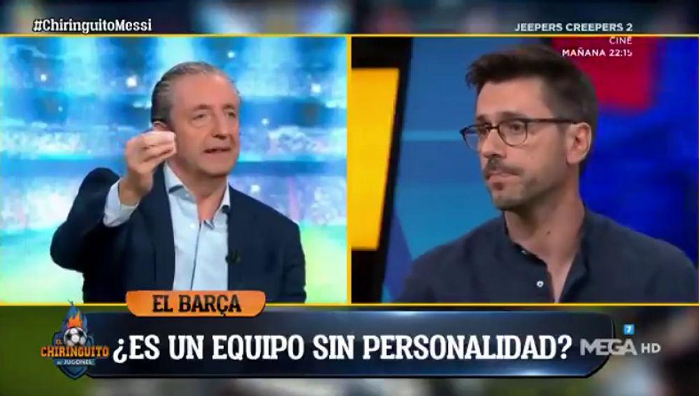 """Josep Pedrerol, tajante: """"Con Sergio Ramos, el Barça no hubiera encajado 4-0 en Liverpool"""""""