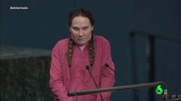 """Joaquín Reyes recrea el discurso de Greta Thunberg ante los líderes de la ONU: """"Vi a Trump y me dio unas ganas de cogerle del pescuezo..."""""""
