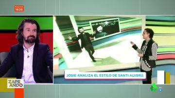 """Josie analiza el estilo """"chico Tinder"""" de Santi Alverú"""