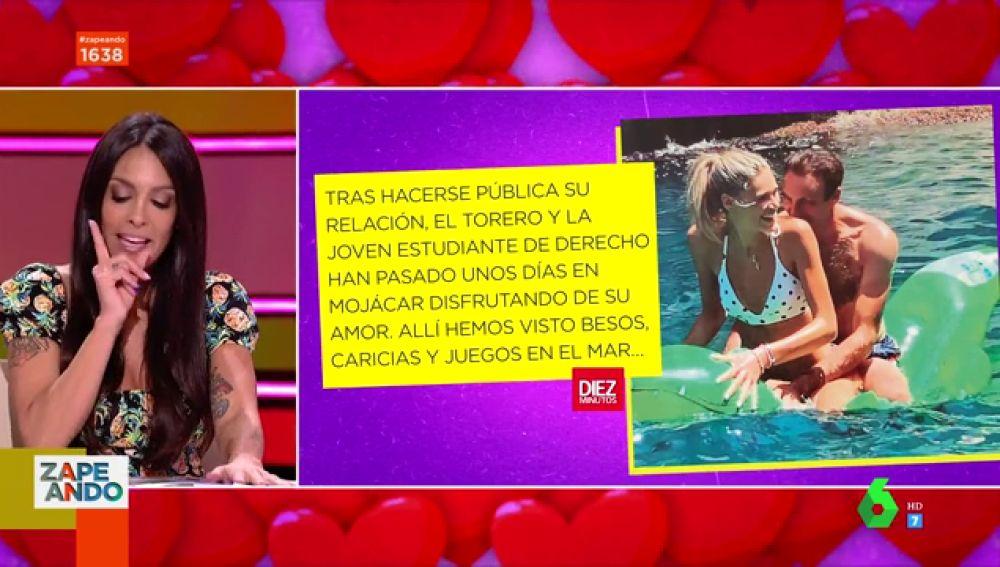 Primeras imágenes de Enrique Ponce y Ana Soria con posible dardo a Paloma Cuevas
