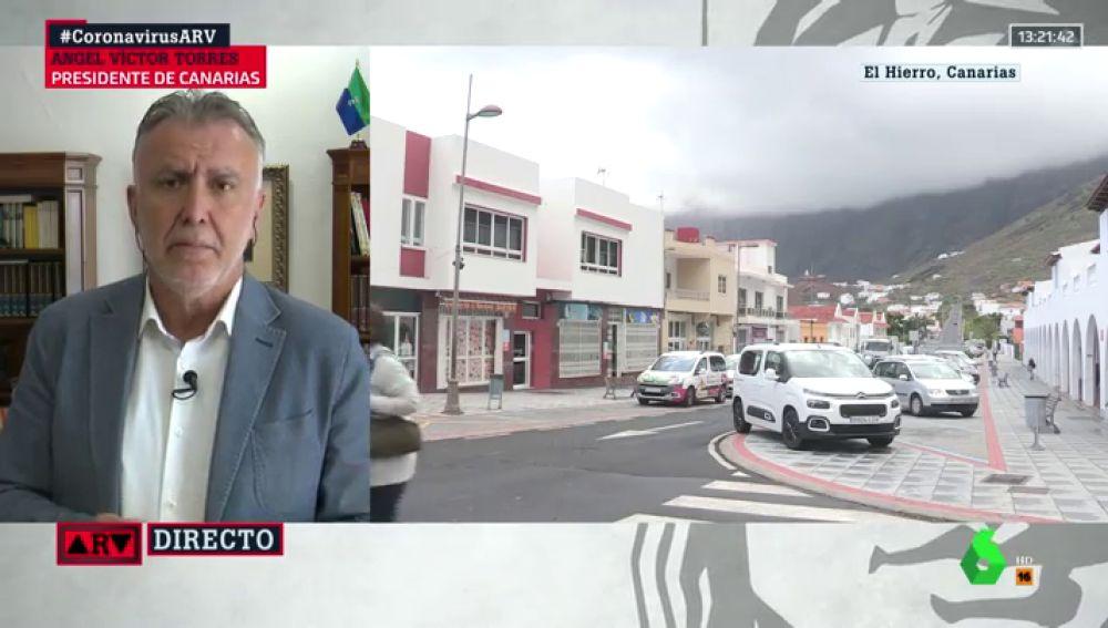 El presidente de Canarias, Ángel Víctor Torres
