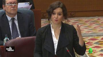 """Vídeo manipulado - """"Ni pun, ni pin"""", el hit de Díaz Ayuso para hablar del veto parental"""