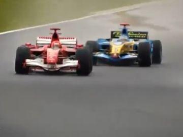 Schumacher y Alonso