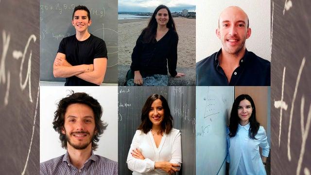 Estos seis jovenes matematicos han ganado los Premios Vicent Caselles 2020