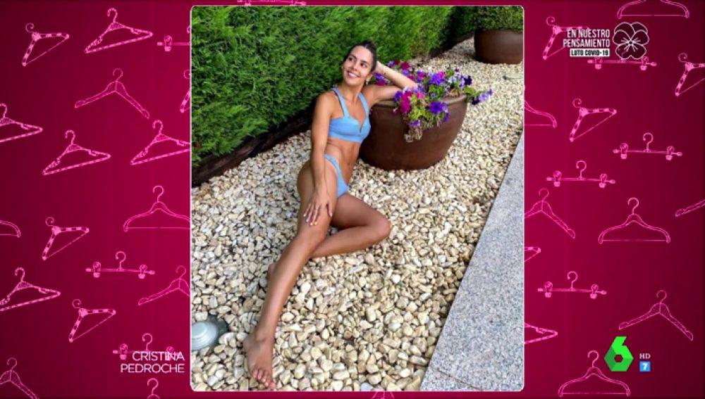 El sorprendente detalle del posado en bikini de Cristina Pedroche que no convence a Josie