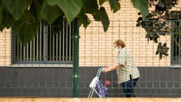 Imagen de una mujer de la tercera edad