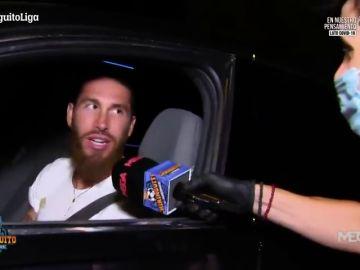 """Sergio Ramos y su dedicatoria para Cristóbal Soria en 'El Chiringuito': """"¡Barbero gordo!"""""""