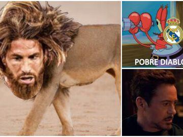 Sergio Ramos, Bob Esponja y Tony Stark