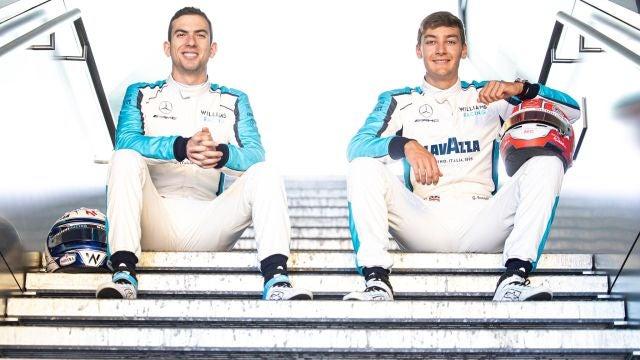 Williams confirma a sus pilotos para 2021